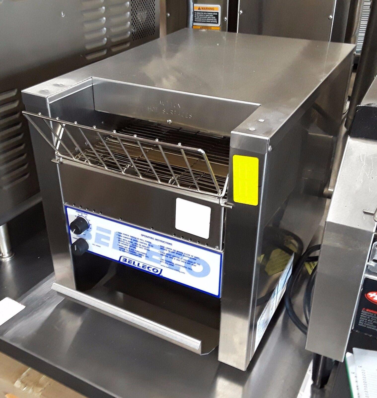 Belleco JT2B - Conveyor Bagel Toaster - 1200 Slice/Hr