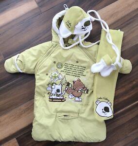 Nid d'ange et accessoires d'hiver pour bébé garçon ou fille