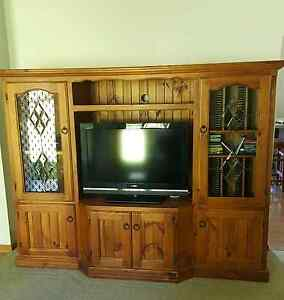 Timber TV Unit Muswellbrook Muswellbrook Area Preview
