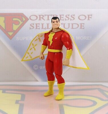 Vintage 1986 Kenner DC Super Powers SHAZAM Original Action Figure ~Repro Cape