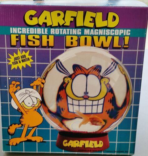 Garfield Rotating Fish Bowl  New Archives at Paws Inc. Vintage