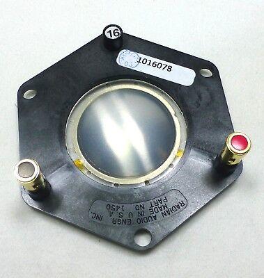 "Radian 1750PB-16 Diaphragm Radian 2/"" 16 Ohm PB Terminals"