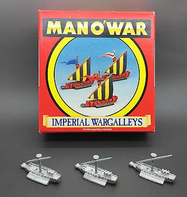 GAMES WORKSHOP CITADEL WARHAMMER FANTASY BATTLE MAN O WAR IMPERIAL WARGALLEYS