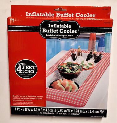 able Buffet Cooler Essen und Getränke mit Eis befüllen  (Aufblasbarer Eis-buffet)