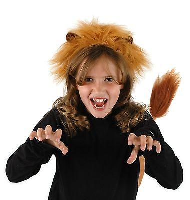 Lion Ear Headband and Tail Set - Elope