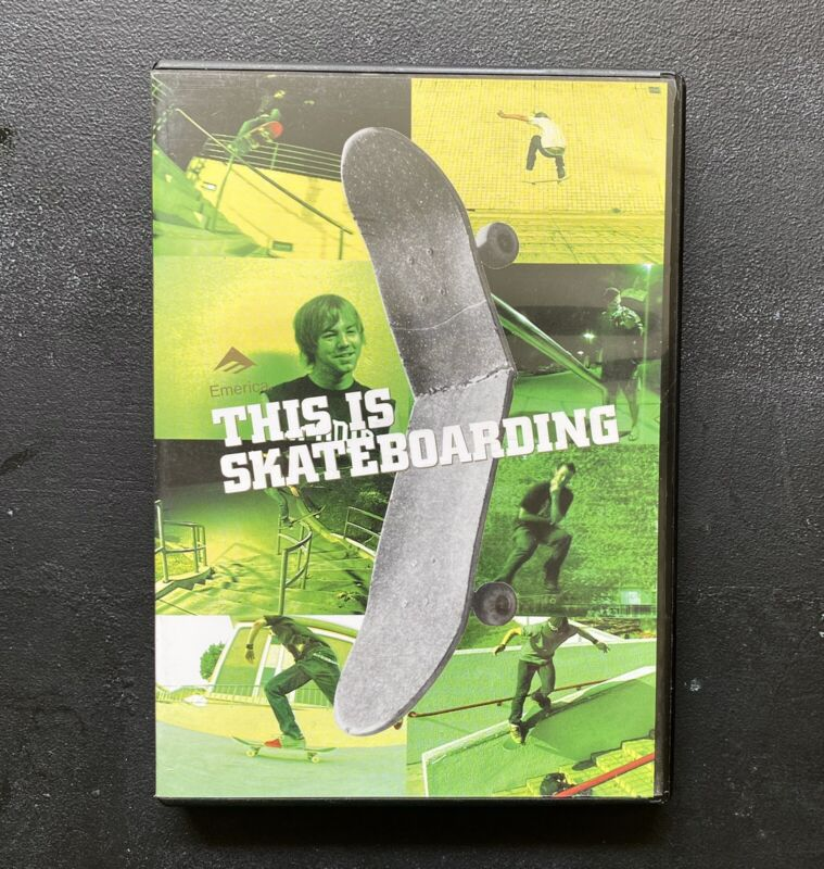 This Is Skateboarding DVD 2003 | Emerica | PROFESSIONALLY RESURFACED | Tested