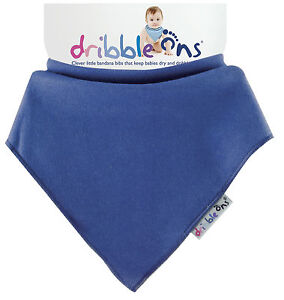 Dribble Ons Bandana Bib All Colours! Pink, Blue, White, Navy, Red, Black etc...!