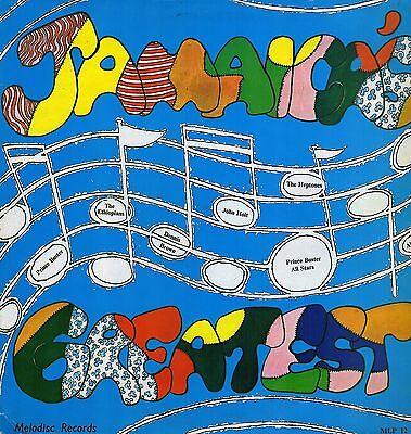 """ JAMAICA GREATEST."" various artist. PRINCE BUSTER UK  L.P."