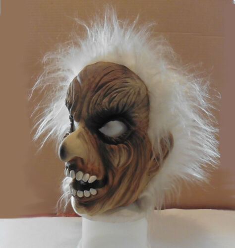 TopStone Halloween Fright/Monster Mask with Wig Vintage