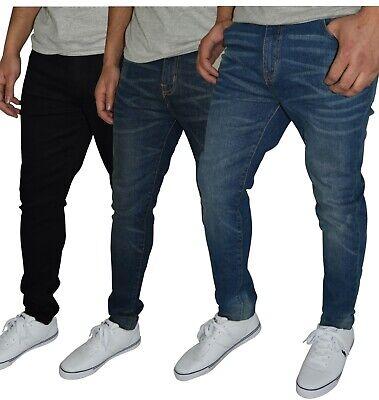Herren Slim Fit Jeanshose Stretch Designer Hose Super Flex Denim Pants Slim Denim Pant
