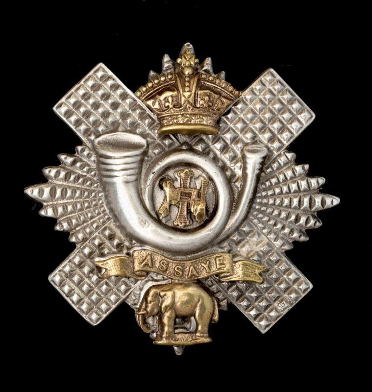 Highland Light Infantry Cap Badge Officers
