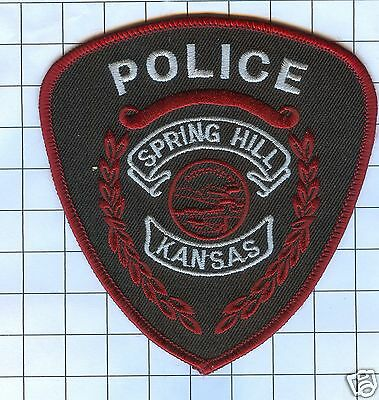 Police Patch  - Kansas - SPRING HILL
