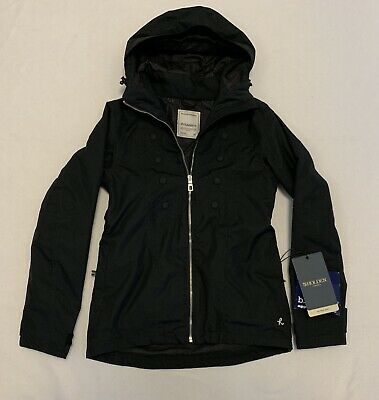 Women's HOLDEN The Band Jacket Ski Skiing Snowboard Snowboarding Black XS XSmall