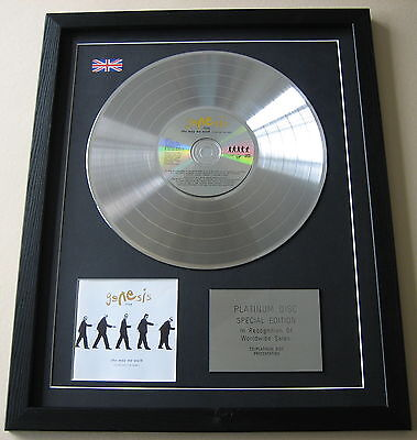 GENESIS LIVE The Way We Walk CD / PLATINUM LP Disc Presentation