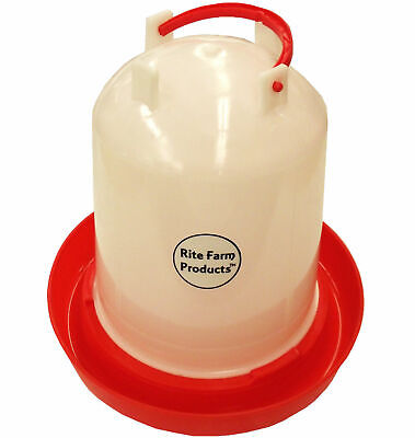 Medium Rite Farm Products Hd 1.6 Gallon Chicken Waterer Handle Poultry Chick