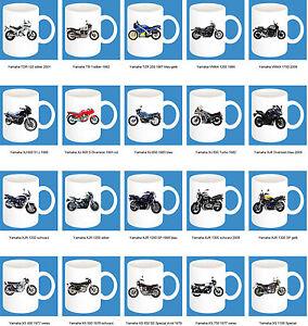 300-ml-ceramica-Tazza-con-fantasia-YAMAHA-PARTE-2-Moto-modello-caffe-BIKE
