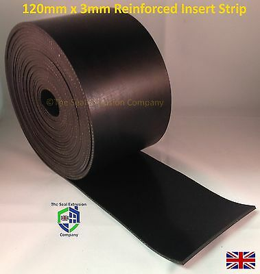 Garage door, gate, door flexible rubber draught draft seal - easy fit - insulate