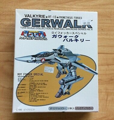 Yamato Japan Gashapon Macross VFC 1//200 VA-3M Invader Fighter VF-X2 Robotech