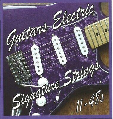 Cuerdas Guitarra Eléctrica 3.4-14.6ms Mediano Calibre Nickel Wound .011 048