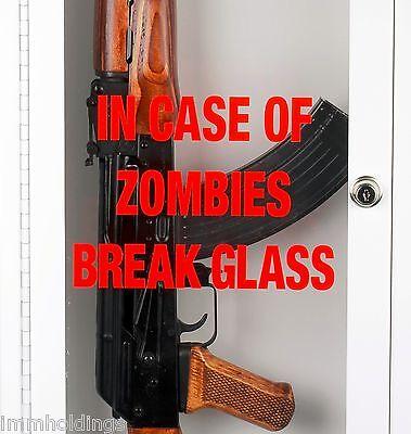 Case Emergency Break Glass (Zombie / Emergency Break Glass Gun Cabinet – Display Case - Wall)