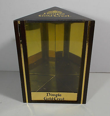 DIMPLE WOODEN BOX CASE SCOTCH WHISKY 15 YEARS OLD GOLD CHEST segunda mano  Embacar hacia Argentina