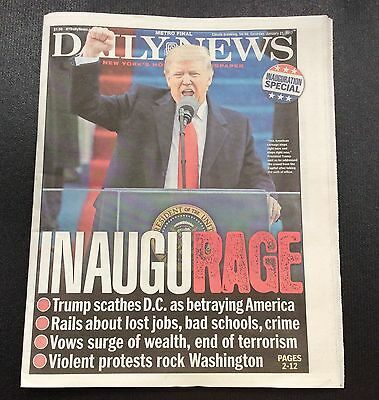1/21/2017 New York Daily News DONALD J. TRUMP INAUGURATION SPECIAL PAPER