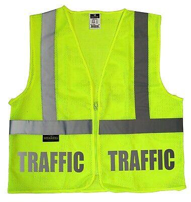 Traffic Staff Safety Vest With Reflective Design High Visibility Vest
