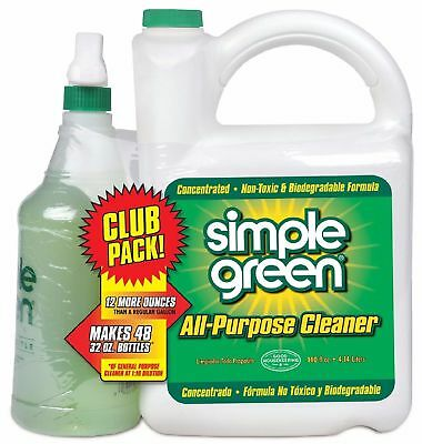 Simple Green All-Purpose Cleaner 172oz Safe Non Toxic Cleaner Biodegradable