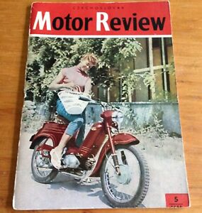 "Vintage 1959 CZECHOSLOVAK MOTOR REVIEW ""Motorcycle"""