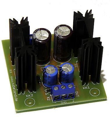 Symmetrisches Netzteil +/-  15V 1A Bausatz