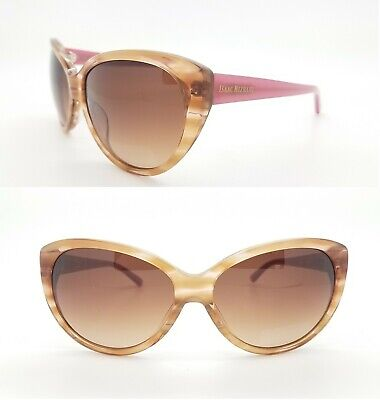 New Isaac Mizrahi New York sunglasses IM30209 TT 60 Pink Tortoise Brown Gradient