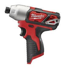 "New Milwaukee 2462-20 M12 1/4"" Hex Impact Driver - Bare Tool"