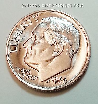 1966 P Roosevelt Dime  **FREE SHIPPING**
