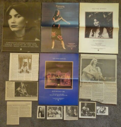Nice EMMYLOU HARRIS Clippings
