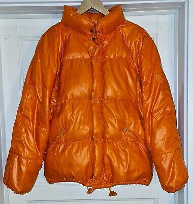 Vintage Moncler Grenoble - Down Puffer Jacket - Orange Size 3