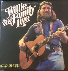 Willie Nelson Gatefold  Double Albums