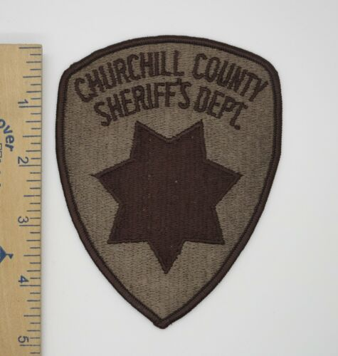 CHURCHILL COUNTY NEVADA SHERIFF