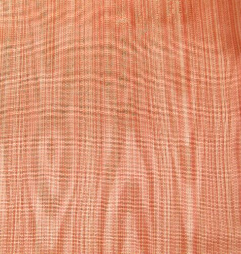 """Scalamandre Rusty Orange Gold Silk/Linen Moire Fabric 7 y. 54"""" W NEW Upholstery"""