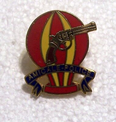 AMICALE POLICE BALLOON PIN