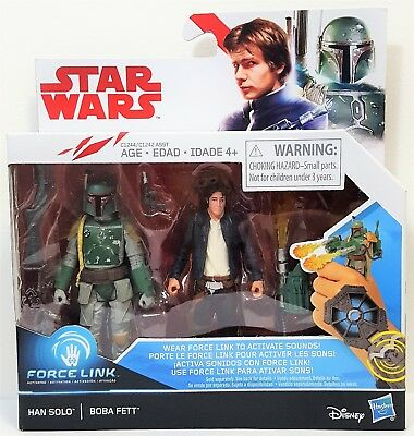 Hasbro Star Wars The Last Jedi Force Link Han Solo & Boba Fe