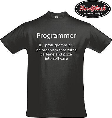 T-Shirt Programmer Programmierer Computerfreak Zocker Kult Lustig Fun FY