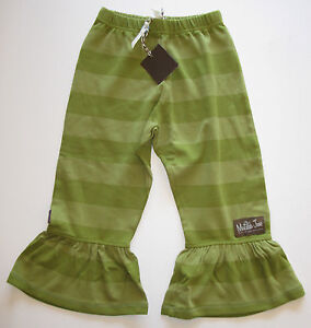 NWT NEW Matilda Jane girls big ruffles pants leggings straightees 6m 12m 18m 2