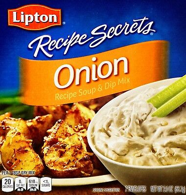 Lipton Onion Soup & Dip Mix Recipe Secrets, 4, 8 or 12 Ounces