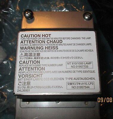 Mt8101000 Replacement Lamp For Liquid Crystal Projectors Projector Bulb