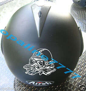sticker autocollant gaz casque skull biker tuning moto auto poly carenage ebay. Black Bedroom Furniture Sets. Home Design Ideas