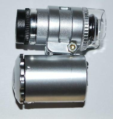 Mini Microscope 60x Magnification for Fossil Inspection #665 2o
