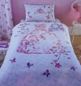 Princess Duvet cover and piow - NEW Helensvale Gold Coast North Preview