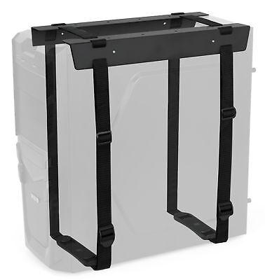 VIVO Black Under-Desk and Wall PC Adjustable Strap Mount - Computer Case Holder