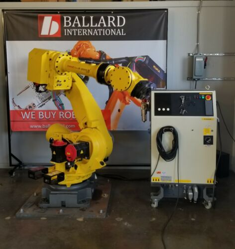 FANUC R-2000iB 210F Robot System Complete with R30iA Cabinet - Low Hours!