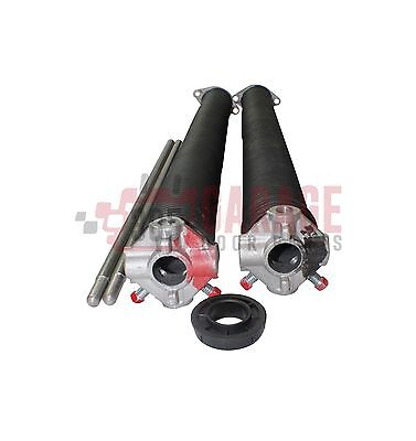 "Garage Door Torsion Springs 218 X 2"" X 22 - 35"" ( Pair ) With Winding Bars"